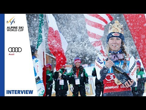 "Mikaela Shiffrin | ""Really good to be aggressive"" 