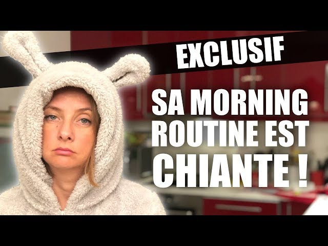 MA PATHÉTIQUE MORNING ROUTINE !