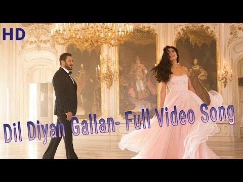 Dil Diya Gallan Full HD 1080p Video Song | Tiger Zinda Hai |