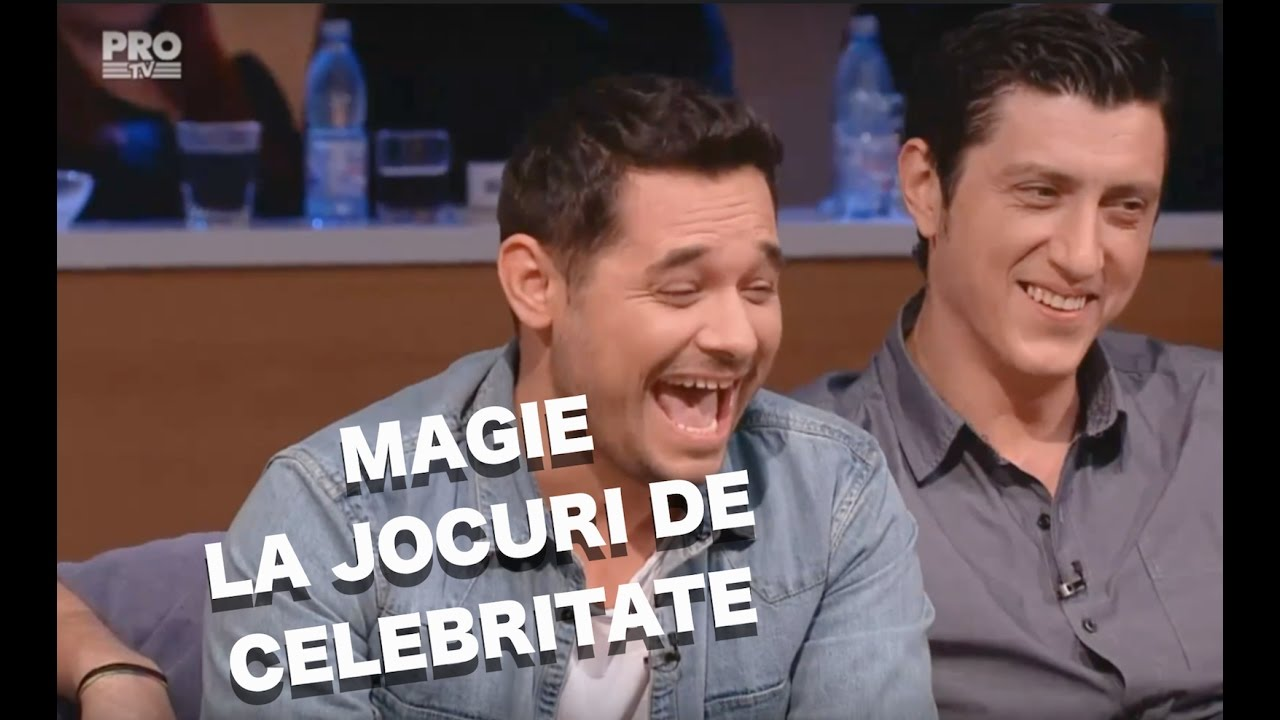 MAGIE LA JOCURI DE CELEBRITATE