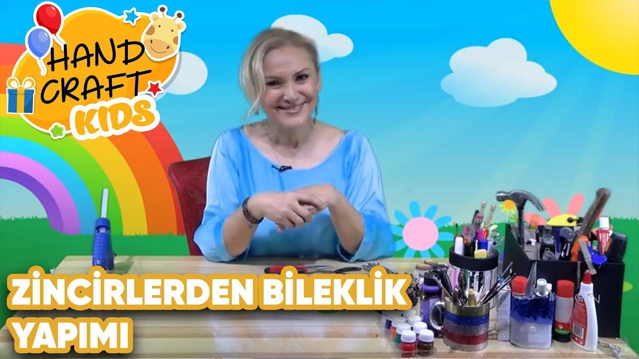 Zincir ve Tokalardan Bileklik Yapımı | Handcraft TV Kids