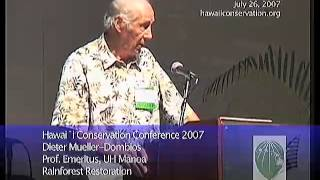 A Silvicultural Approach to Restoration of Native Hawaiian Forests. (Mueller-Dom