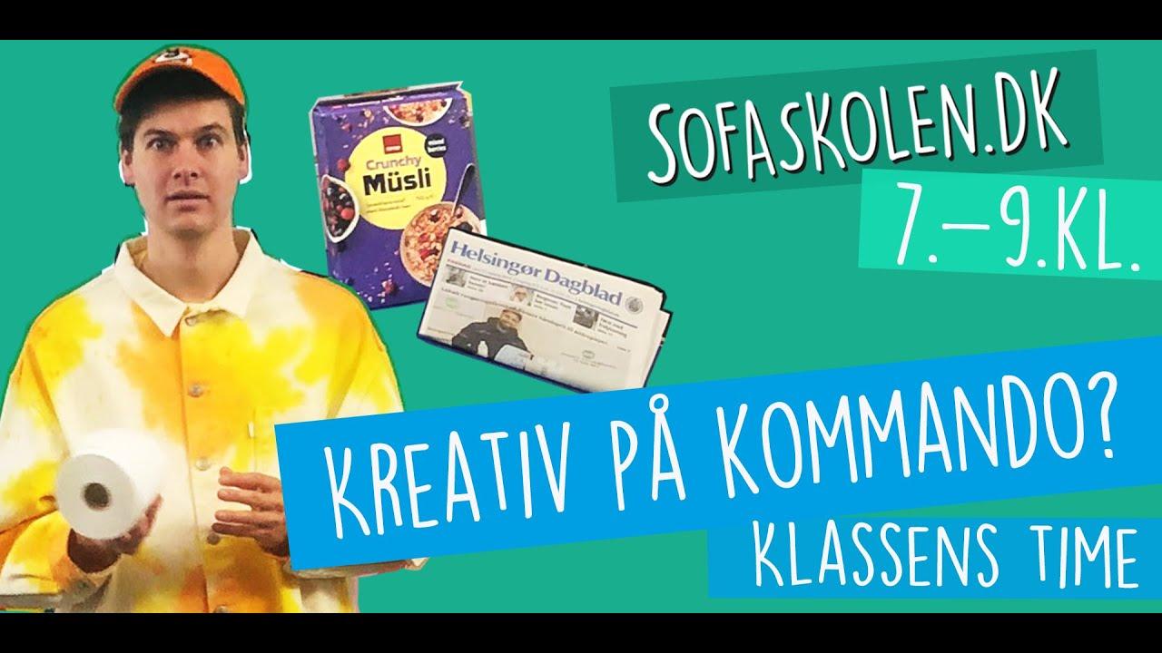 27. marts / Kreativitet med Lakserytteren - Intro for 7.-9. klasse / Sofaskolen