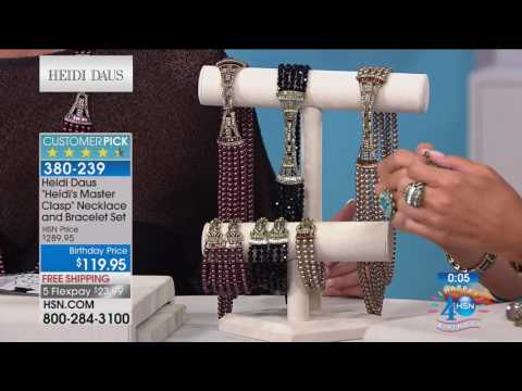 HSN | Heidi Daus Jewelry Designs Celebration 07.06.2017 - 03 PM