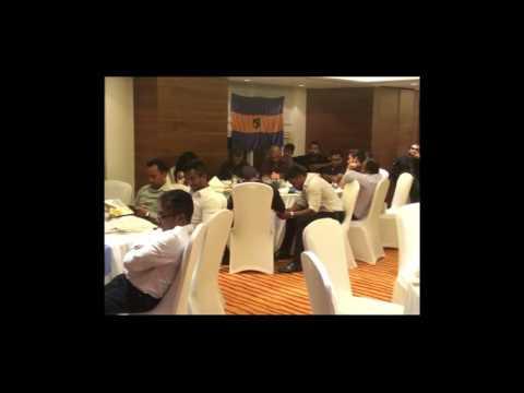 President Kelum Sujith speech @ 41st Lanka Lions Sports Club - AGM