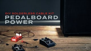 Download DIY Solderless Pedalboard Power Cable Kit MP3 song and Music Video