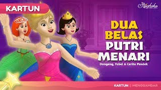 Video Dua Belas Putri Menari cerita anak anak animasi kartun download MP3, 3GP, MP4, WEBM, AVI, FLV September 2018