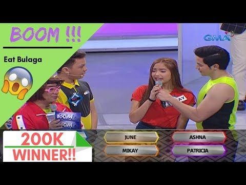 Eat Bulaga - BOOM! ( Lucky Winners! ) - January 15 2019