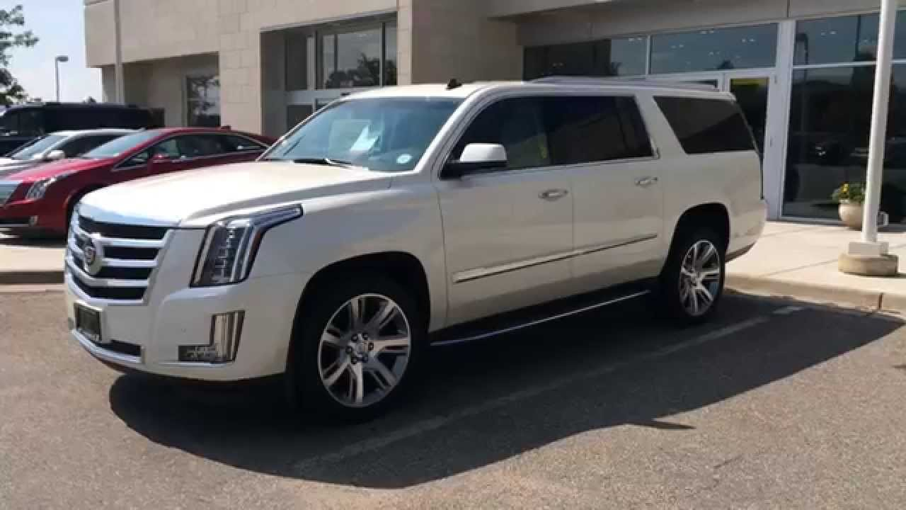 2017 Cadillac Escalade Esv Start Up In Depth Tour And Review You