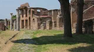 Ostia Antica - Best preserved Roman city in the world.