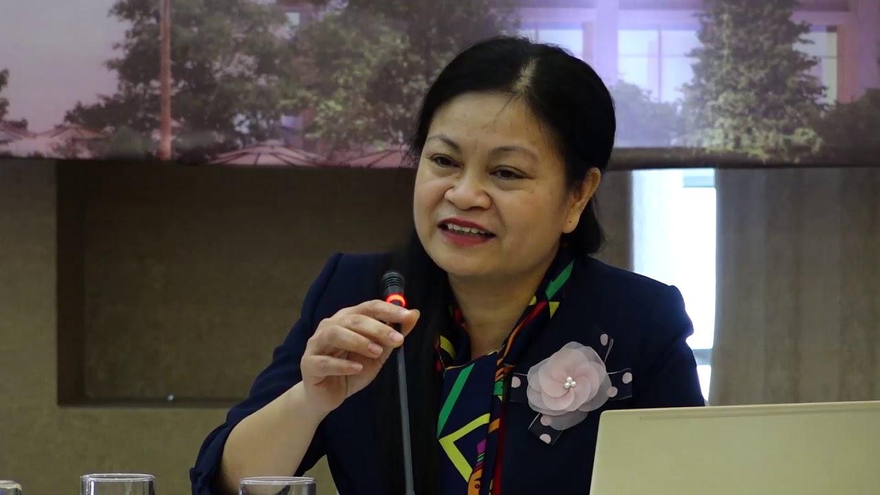Bà Phạm Thị Thịnh – Phó Cục trưởng Cục Đăng ký Đất đai, Bộ Tài nguyên và Môi trường