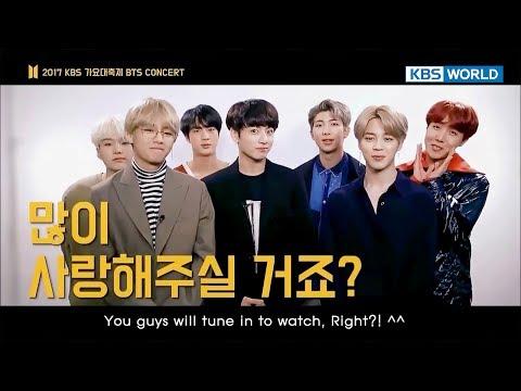 2017 KBS Song Festival | 2017 KBS 가요대축제 [Preview - BTS Concert ver.]