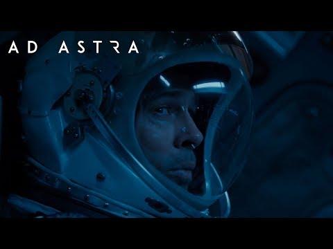 New Ad Astra sci-fi movie trailer starring Brad Pitt