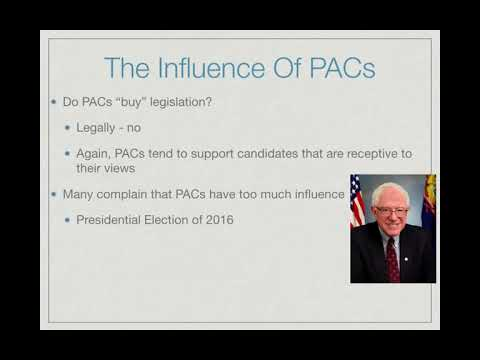 AP Gov Review: Video #20 - Political Action Committees and Super PACs