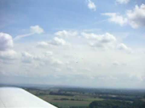 Takeoff PA28 at Maastricht-Aachen