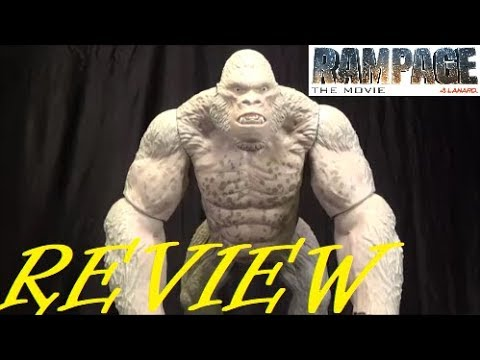 Toy Review Rampage The Movie Mega George Lanard Toys 2018 Youtube