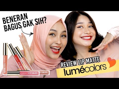 Review Lumecolors, The Best Lip Cream Matte? Beneran Bagus Gak sih?