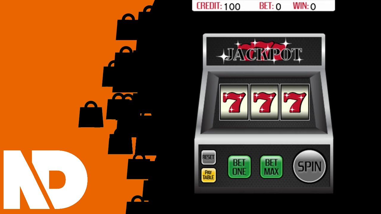 Html5 slot machine jackpot 777