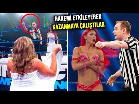 Boks Ringlerinde Kazanmak İçin Utanmazca Yapılan Anlar! WWE En Eğlenceli ve Komi