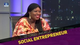 EXCLUSIVE Toyosi Akerele Takes The Other News  Feb 15 2018