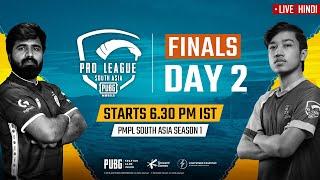 [Hindi] PMPL South Asia Finals Day 2 | PUBG MOBILE Pro League S1
