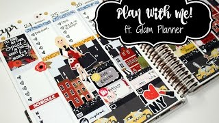 Plan With Me! ft  Glam Planner's NYC Kit!!