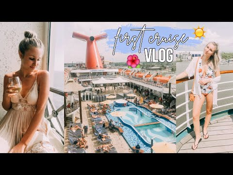 CARNIVAL CRUISE VLOG: first time going on a cruise!!