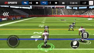 Madden Mobile Season Mode-Ep 2(Interceptions!)
