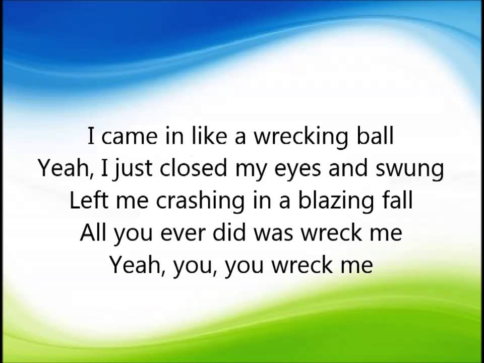 Cimorelli - Wrecking ball LYRICS - YouTube