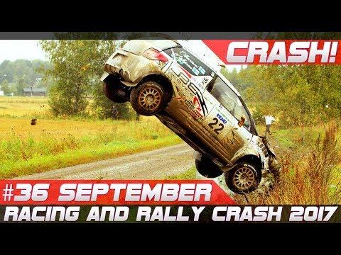 Racing and Rally Crash Compilation Week 36 September 2017