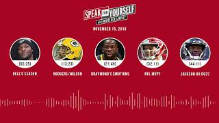 SPEAK FOR YOURSELF Audio Podcast (11.15.18)with Marcellus Wiley, Jason Whitlock | SPEAK FOR YOURSELF