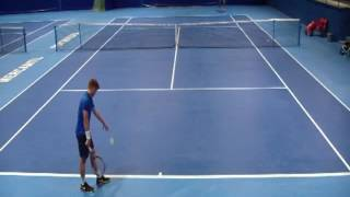 12 OCT Main Draw   Aidan McHugh vs Louis Dussin