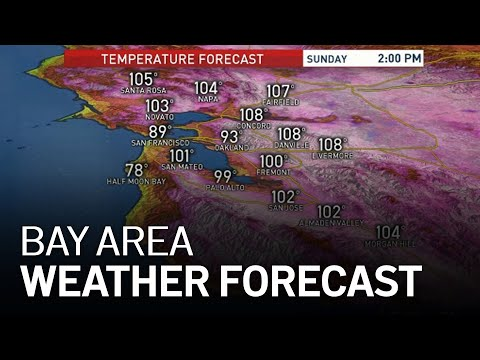 Bay Area Forecast: Sizzling Labor Day Weekend