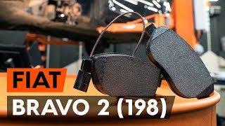 Ako vymeniť predných brzdové platničky na FIAT BRAVO 2 (198) [NÁVOD AUTODOC]