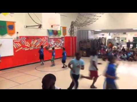Statesville road elementary school basketball game