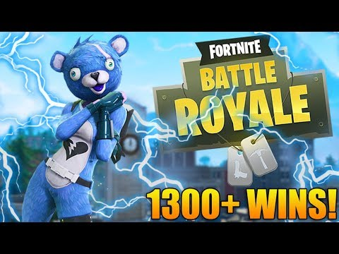 GETTING EPIC WINS! - TOP FORTNITE PLAYER - 1300+ Wins - Level 100 - Fortnite Battle Royale Gameplay
