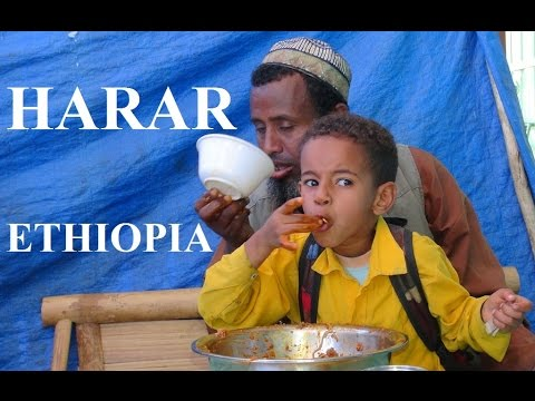 Ethiopia / Harar (Eating very tasty/Bon appetit) Part 38