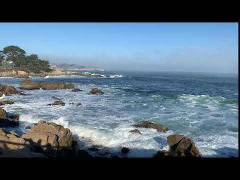 Breathtaking Pacific Grove CA Surf