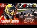 F1 2017 Career Mode Part 1: Mclaren Honda Road to Glory!