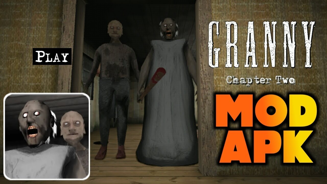 Granny Chapter Two MOD APK 0.8.3 [GOD MODE]  #Smartphone #Android