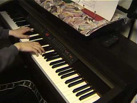 Ashitaka And San アシタカとサン  Piano 【久石譲 Encoreより】