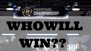 Who Will Win PokerStars Championship Panama Main Event?