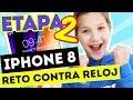 ME REGALAN IPHONE PERO TENGO QUE ENCONTRARLO   RETO CONTRA RELOJ - ETAPA 2   Daniela Golubeva