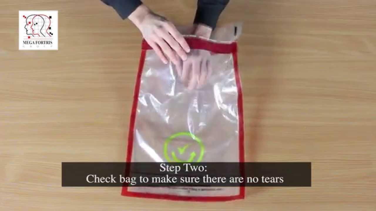 Duty Free Icao Tamper Evident Bag