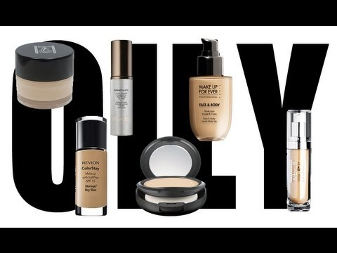 The best foundations for oily skin youtube