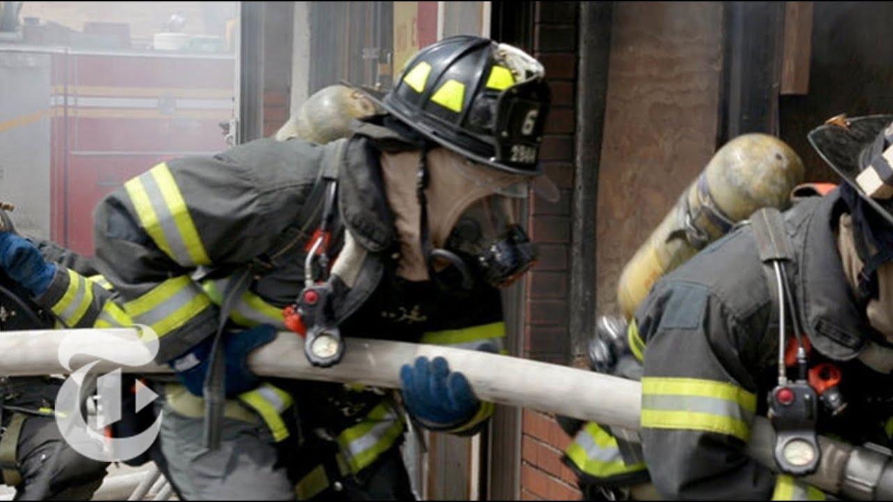 inside firefighter training the new york times youtube