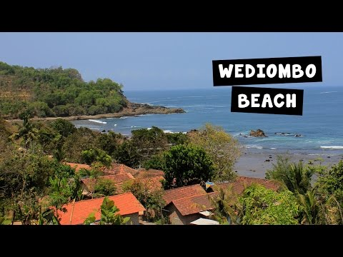 Places to visit in Indonesia - Pantai Wediombo Beach - Jogja