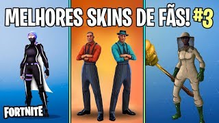 FORTNITE-THE BEST SKINS CREATED BY FANS OF BATTLE ROYALE! #3
