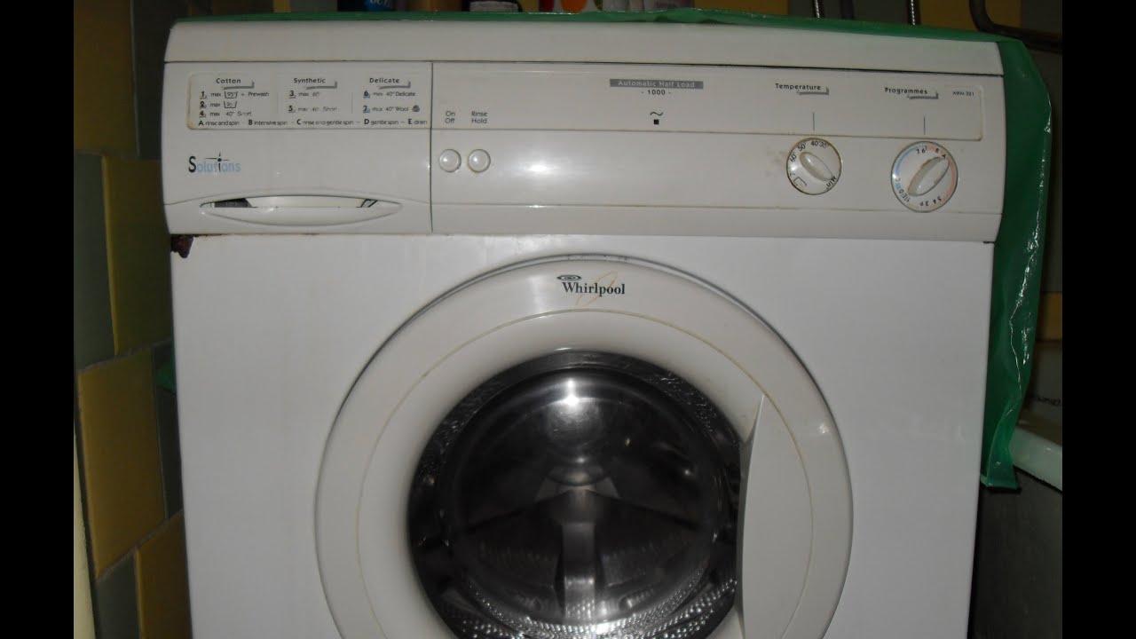 Инструкция к стиральной машине philips whirlpool