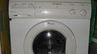Ремонт стиральной машины Whirlpool(Ремонт амортизаторов стиральной машины Вирпул AWM321. При отжиме стиралка сильно вибрировала. Проблема была..., 2014-04-20T07:58:01.000Z)